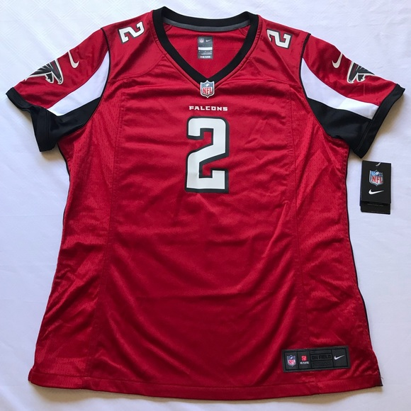 sale retailer bdf44 d6efe atlanta falcons women's jersey